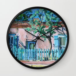 Canyon Road House, Santa Fe Wall Clock