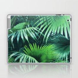 Tropical Botanic Jungle Garden Palm Leaf Green Laptop & iPad Skin