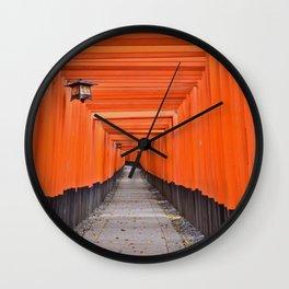 Torii Gates Wall Clock