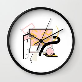Bag of Dragonite Logo (bit.ly/BagofDragonite) Wall Clock