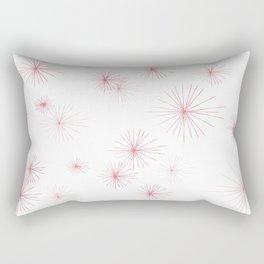 burst pink Rectangular Pillow