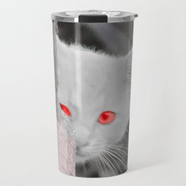 Kitty in the City Travel Mug