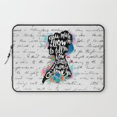 Mr. Darcy - Ardently Admire & Love You Laptop Sleeve