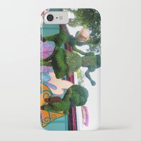 outdoor iPhone & iPod Cases featuring Outdoor Tea Party by Ashleigh E. Myers