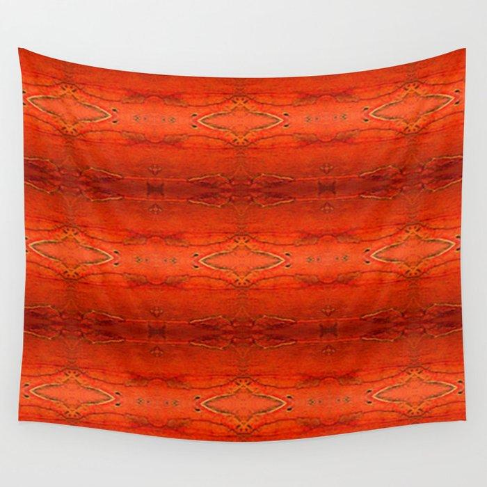 Rustic Orange Geometric Southwestern Pattern Luxury