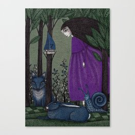 There is a Place in the Woods... Canvas Print
