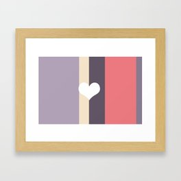 Girly Pastel Framed Art Print