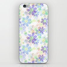 Floral pattern 10 iPhone Skin