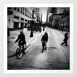 Street Rhythm Art Print