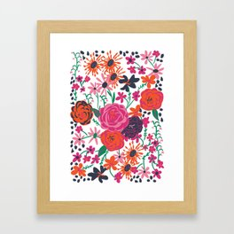 blooming love Framed Art Print