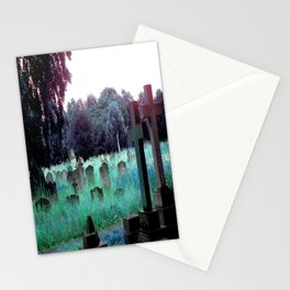 Meet You At The Cemetery Gates Stationery Cards