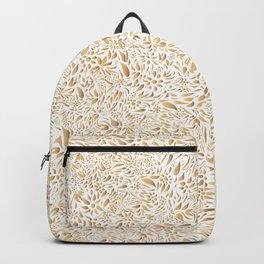 Golden pattern! Backpack