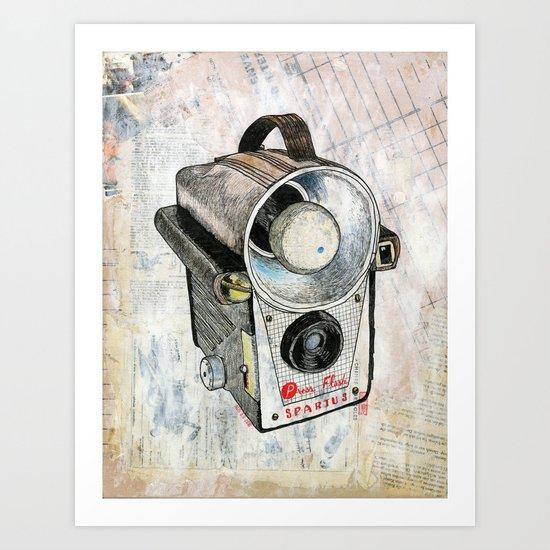 Spartus Press Flash Art Print