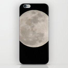 super moon iPhone Skin