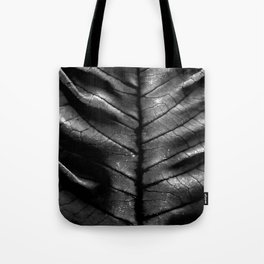Dragon Spine (Black Version) Tote Bag