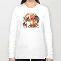 super smash bros Long Sleeve T-shirts featuring Charizard - Super Smash Bros. by Donkey Inferno