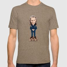 Killer Bobblehead Tri-Coffee Mens Fitted Tee MEDIUM