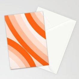 Orange rainbows  Stationery Cards