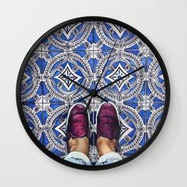 Art Beneath Our Feet - Ancona, Italy Wall Clock