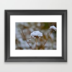 Snow Fall Framed Art Print