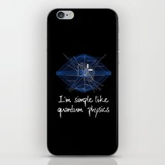 QUANTUM PHYSICS iPhone Skin