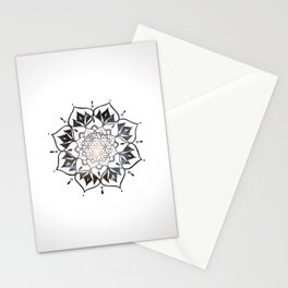 Namaste Nebula Mandala Design Stationery Cards