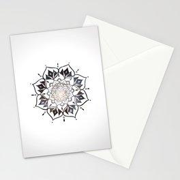 Namaste Nebula Mandala Design Stationery Cards