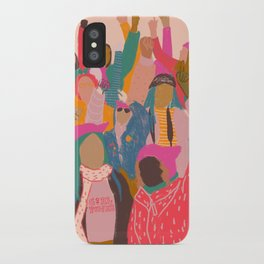 Womens march iPhone Case