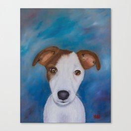 Jake's portrait Canvas Print