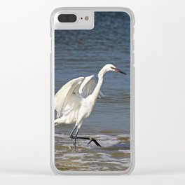 Seaside Sovereign Clear iPhone Case