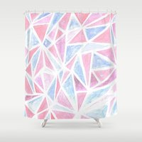 pantone Shower Curtains featuring PANTONE 2015 by Danielle Ebro