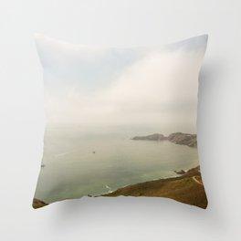 Coastal Drive Throw Pillow
