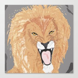 The Lion of the Tribe of Judah Canvas Print