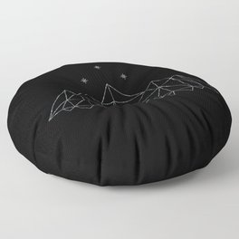 The Night Court insignia from A Court of Frost and Starlight Floor Pillow