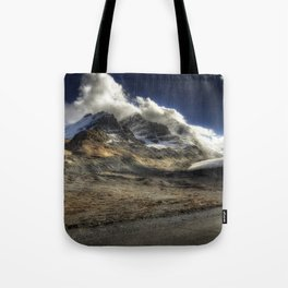 Glacier Expressif Tote Bag