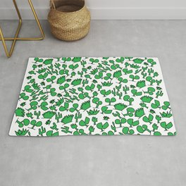cacti everywhere Rug