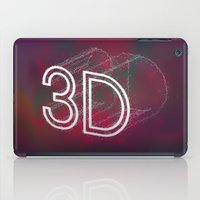 3d iPad Cases featuring 3D by Andra Vlasceanu