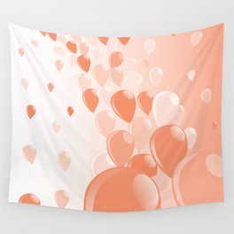 Two Tone Baloons Wall Tapestry