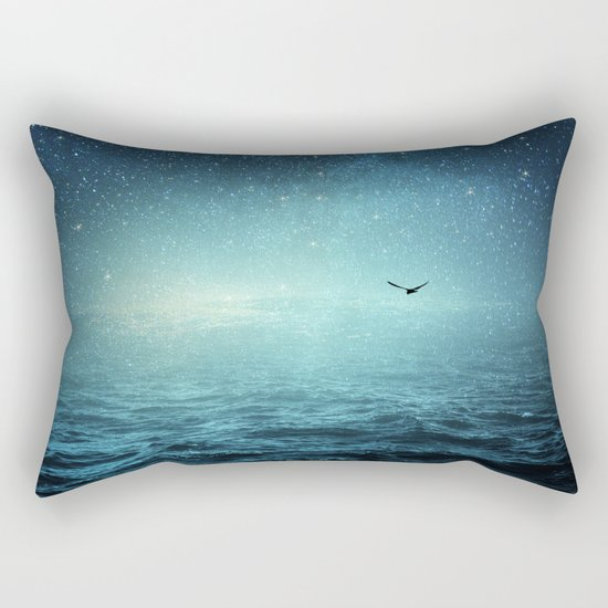 the sea and the universe Rectangular Pillow