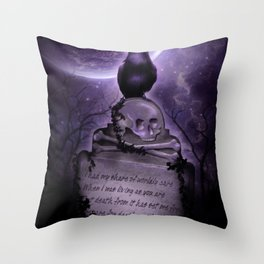 Crow Spirit Throw Pillow