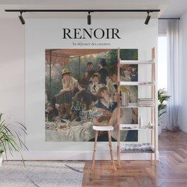 Renoir - Le déjeuner des canotiers Wall Mural