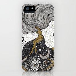 Cosmic Interaction iPhone Case