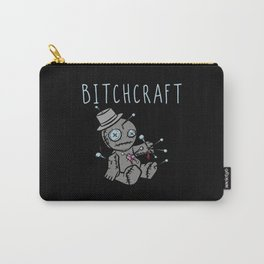 Bitchcraft Voodoo Funny Saying Carry-All Pouch
