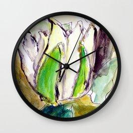 Lotos Wall Clock