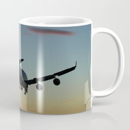 747 Sunset Landing Coffee Mug