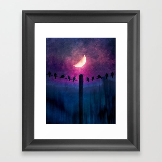 Symphony (colour option) Framed Art Print