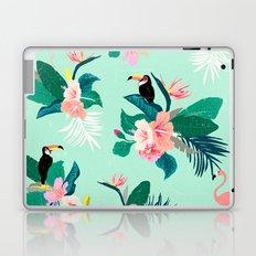 Mint Magic Tropical Laptop & iPad Skin