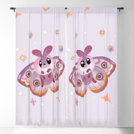 Marbled Emperor Moth Blackout Curtain
