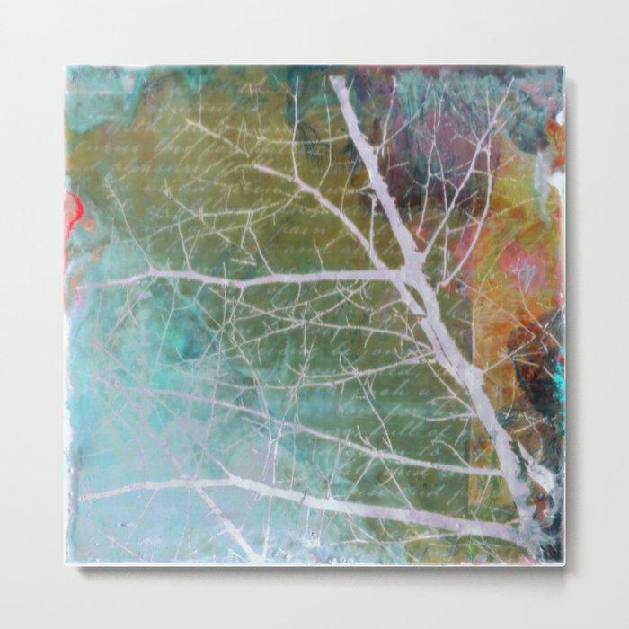 spring silk Metal Print