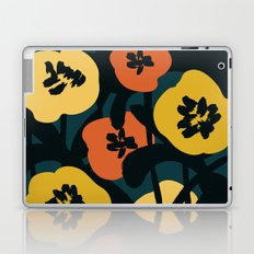 Midnight Flowers Laptop & iPad Skin